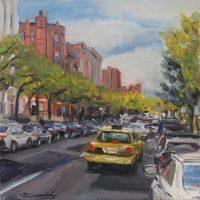 """Cab Ride"" Sean Cassidy, Oil, $750"